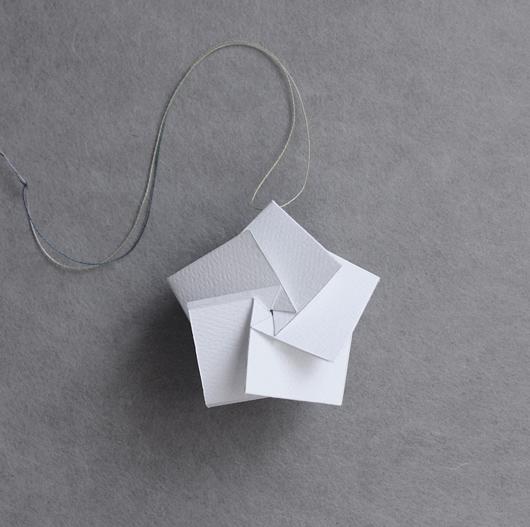 Diy star ornament by jun mitani upon a fold for Diy paper stars